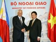 Vietnam y Filipinas avanzan a asociación estratégica bilateral