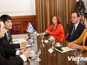 Vietnam y Argentina intensifican cooperación parlamentaria