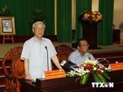 Líder partidista urge desarrollo de economía marítima en Binh Thuan