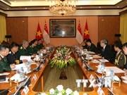 Vietnam y Singapur realizan Diálogo sobre Políticas de Defensa