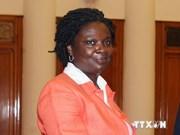 Vicepresidenta parlamentaria elogia aporte de Banco Mundial