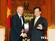 Premier vietnamita recibe a exprimer ministro británico Tony Blair