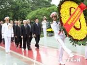 Dirigentes vietnamitas honran a inválidos y mártires de guerra