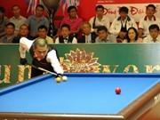 Inauguran torneo internacional de billar en Binh Duong