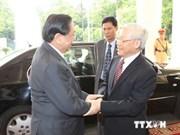 Ratifican Vietnam y Laos carácter especial de sus relaciones