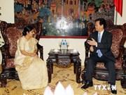 Vietnam y la India desarrollan nexos de asociación estratégica