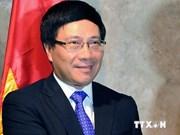 Todo por la paz nacional: divisa de diplomacia vietnamita