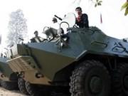 Cambodia anuncia realización de un simulacro con fuego real