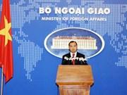 Portavoz aclara postura de Vietnam sobre asuntos globales