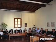 Roma dispuesta a ayudar a Hanoi en conservación de vestigios