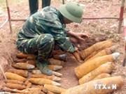 Detectan bombas remanentes de guerra pasada en provincia vietnamita