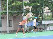 Tenistas vietnamitas asisten a torneo Asia – Pacífico