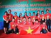 Vietnam gana diez medallas en Olimpiada Internacional de Ciencias