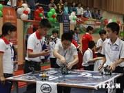 Concurso Robothon Vietnam 2014 estimula creatividad entre escolares