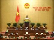 Parlamento revisa leyes de organización gubernamental y de administración local