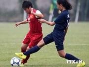 Primera victoria de Vietnam en ronda eliminatoria de fútbol femenino sub -19