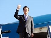 Premier vietnamita llega a Myanmar para Cumbre de ASEAN