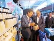 Abierta feria de mercancías de Bac Giang 2014