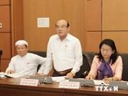Parlamentarios vietnamitas analizan modificación del Código Civil