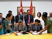 Amplían Vietnam y Cuba lazos de cooperación financiera