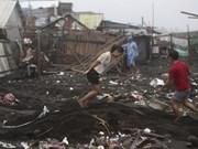 Tifón Hagupit cobra vida de 21 filipinas