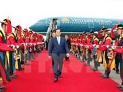 Llega primer ministro vietnamita a Sudcorea