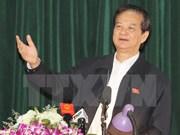 Premier vietnamita mantiene contactos con electores de base