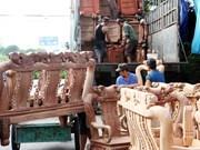 Exportaciones madereras vietnamitas van viento en popa