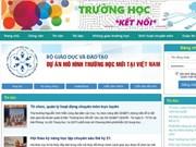 Publican sitio web en apoyo a mejorar gestión educativa