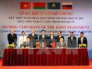 Futuros TLC brindarán preferenciales oportunidades para Vietnam