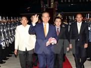 Premier vietnamita Nguyen Tan Dung en cumbre de GMS