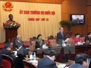 Comité Permanente de Parlamento debate dos proyectos de leyes importantes