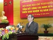 Contribuir a consenso nacional: tarea de órganos periodísticos vietnamitas