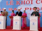 Inician en Vietnam construcción de primer aeropuerto bajo modelo BOT