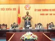 Inauguran sesiones del Comité Permanente de la Asamblea Nacional