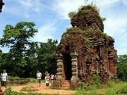 Asistencia india a restauración del santuario de My Son