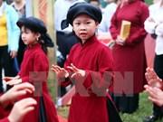 Phu Tho conserva valores de canto Xoan