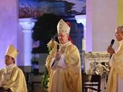 Continúa visita en Vietnam autoridad de Vaticano