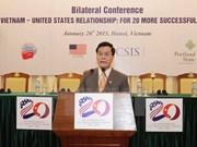 Relaciones Vietnam -Estados Unidos para 20 años de mayor éxito