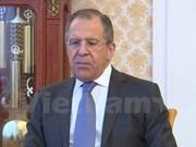 Canciller ruso destaca asociación estratégica integral con Vietnam