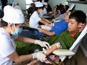 Continúa campaña de donación de sangre