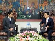 Japón respalda la mayor cooperación legislativa con Vietnam