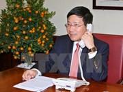 Vicepremier vietnamita telefonea a secretario de Estado de EE.UU