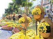 Calles de flores y libros embellecen Ciudad Ho Chi Minh