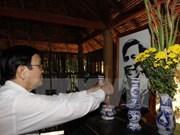 Recorre presidente provincias sureñas en ocasión del Tet