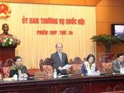 Inaugurarán trigésima quinta sesión de Comité Permanente del Parlamento