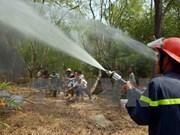 En alta vigilancia parque nacional Tram Chim ante riesgo de incendios