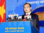 Vietnam saluda esfuerzos por la paz en Mar Oriental