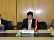 Promueve Vietnam actividades comerciales en Egipto