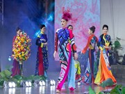 Miss Vietnam divulga traje tradicional del país